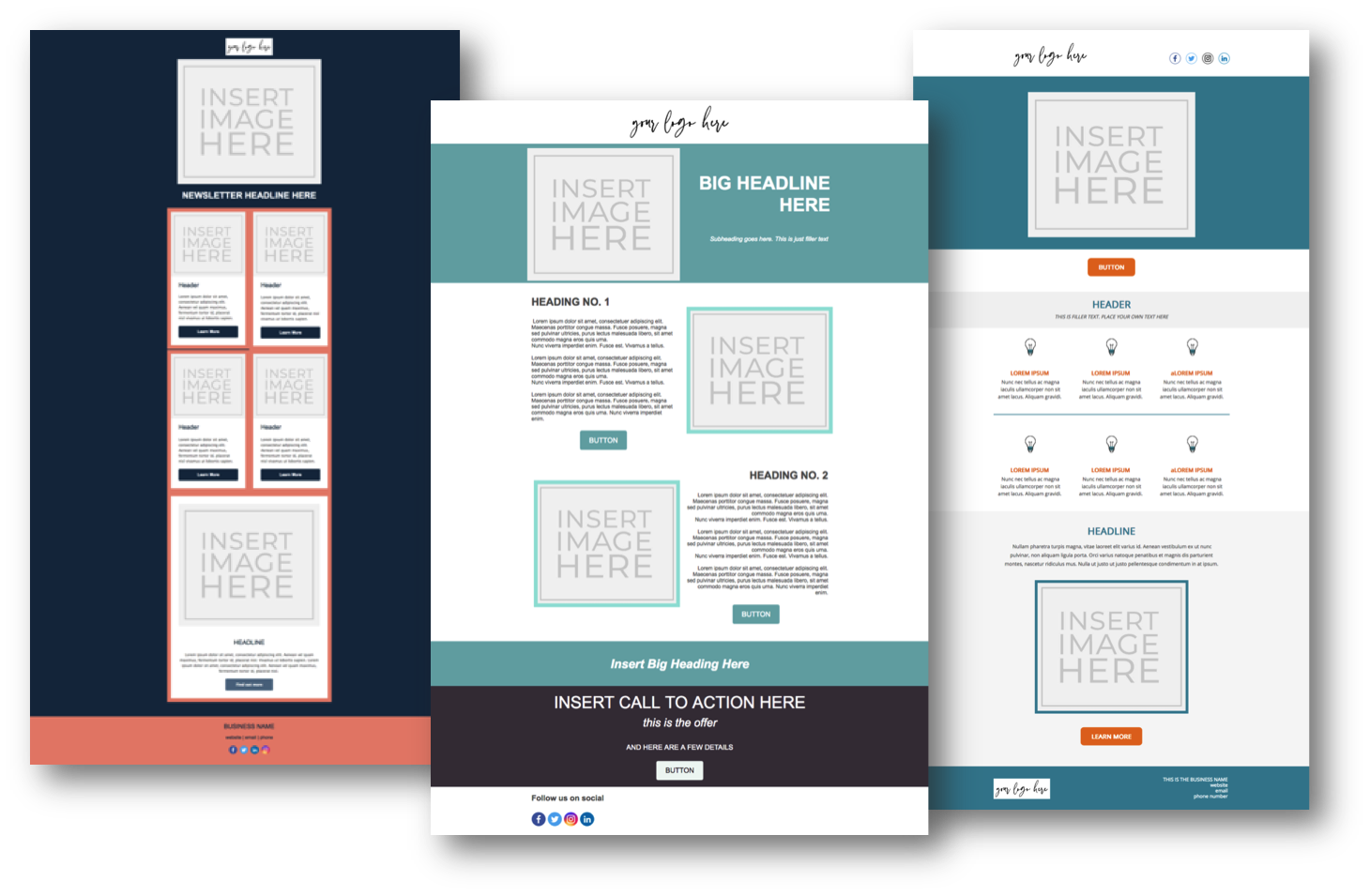 HTML Newsletter Templates