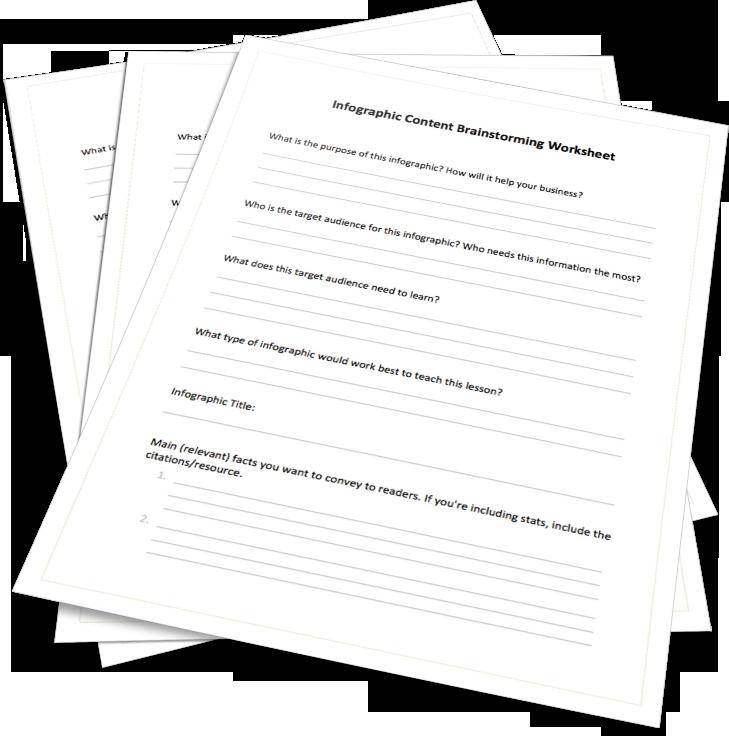 Infographic Brainstorming Worksheet