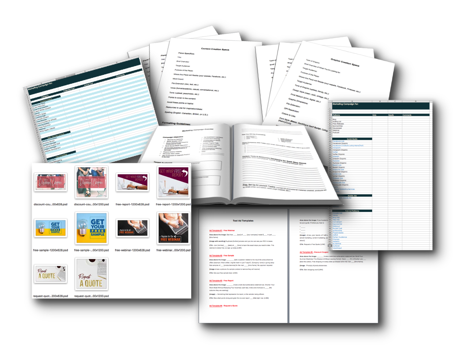 Marketing Campaign Project Management Templates