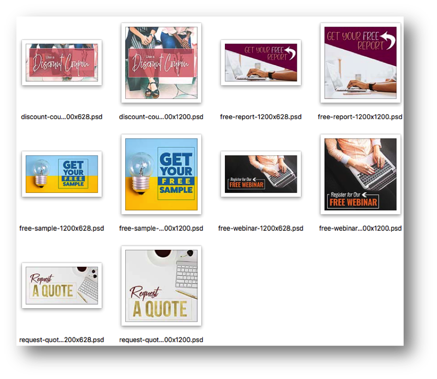 Marketing Campaign Project Management Ad Templates