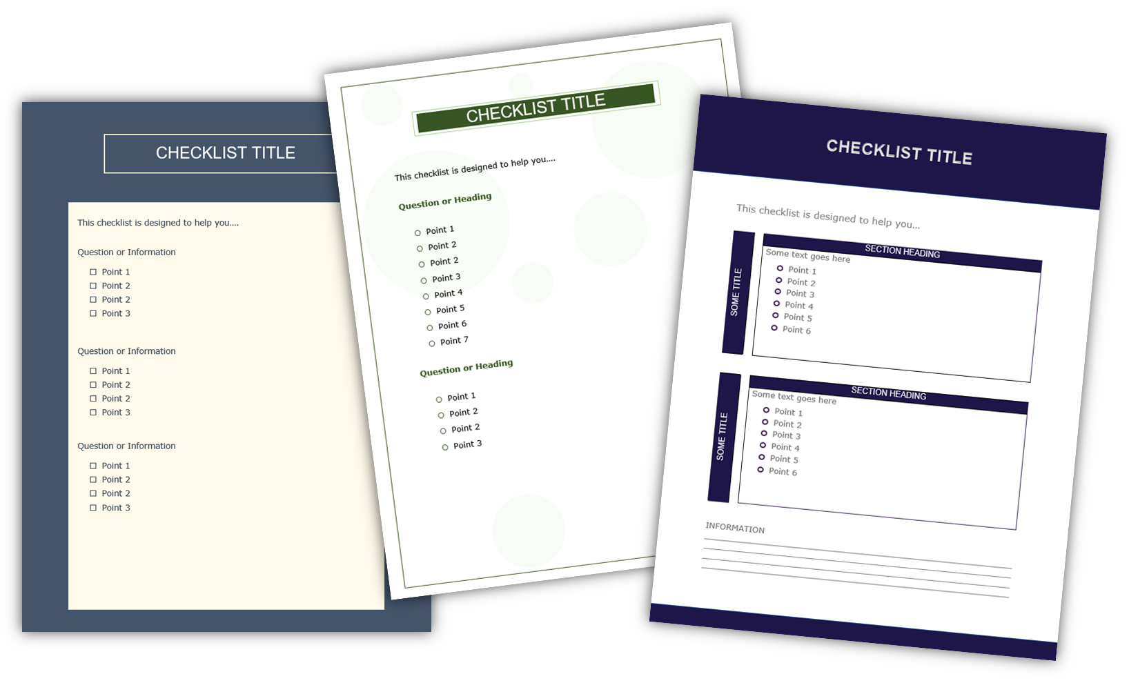 Content Repurposing Checklists