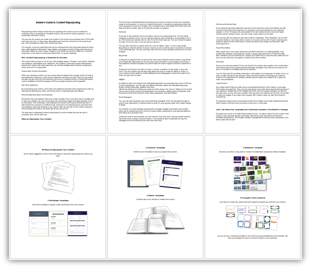 Content Repurposing Templates Guide