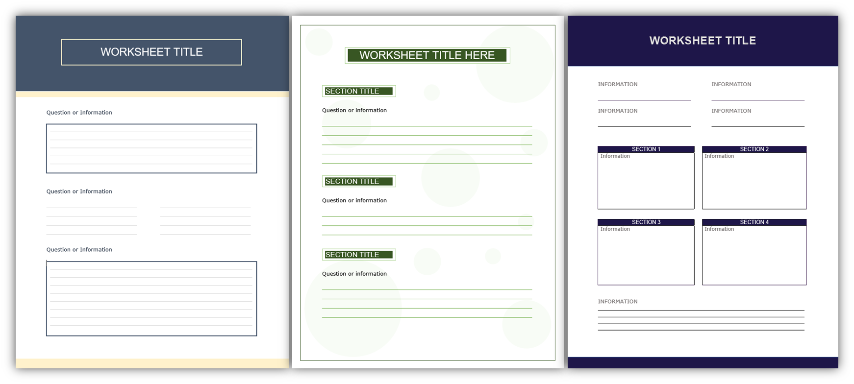 Content Repurposing Worksheet