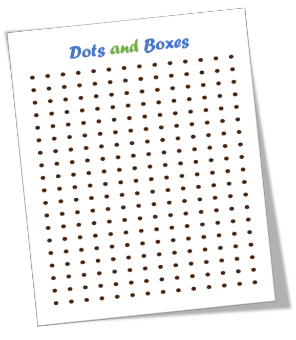 dots and boxes template